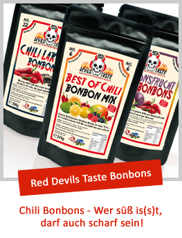 RED DEVILS TASTE Chili Bonbons