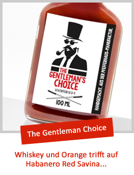 THE GENTLEMAN CHOICE Barbecue Sauce