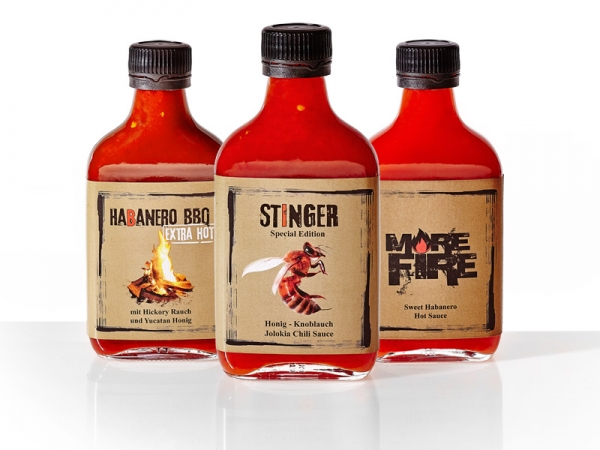 Suicide Sauces - Xtra Hot 3er-Set
